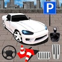 Muscle Car Drive Parking icon