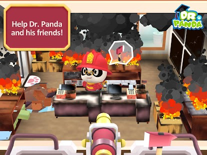 Dr. Panda Firefighters- screenshot