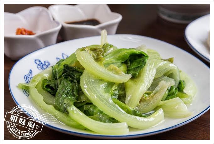 上賓麵食館燙青菜