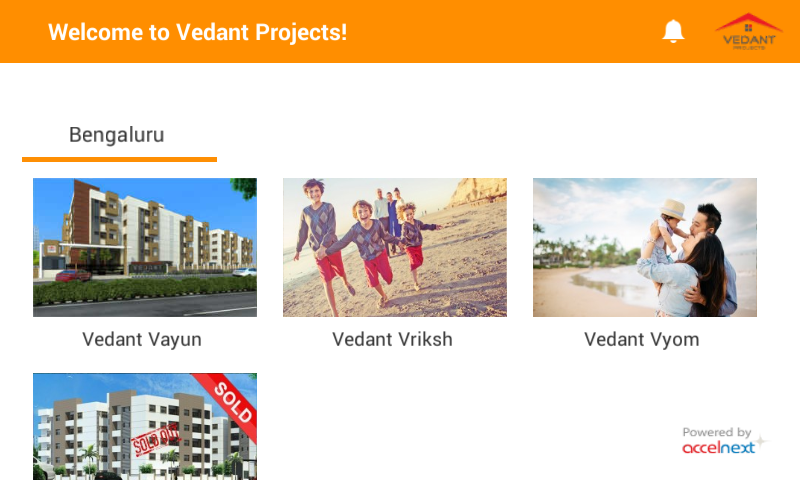 Vedant Projects- screenshot