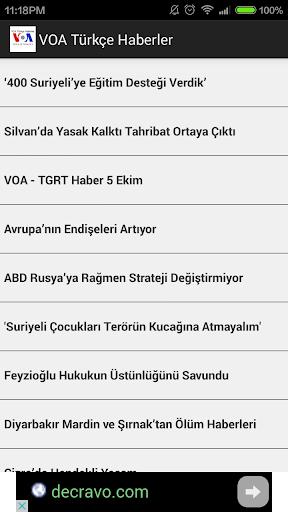 VoA Turkish