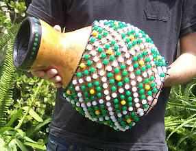 Photo: Shekeré de calabaza tamaño grande - Maritornes Musica