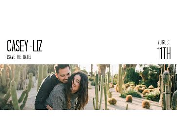 Casey and Liz - Save the Date template