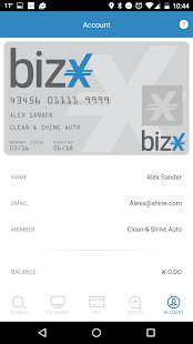 BizX- screenshot thumbnail