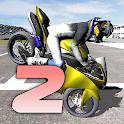Motorbike - Wheelie King 2 - King of wheelie bikes icon