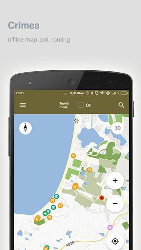 Crimea Map offline Apk apps 1