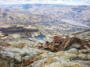Photo: Lake Awak from the highest point I got to before it disappeared from view.