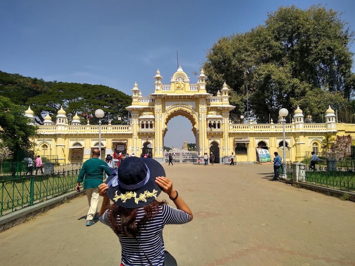 Gate of Mysore Palace