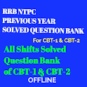 RRB NTPC Previous Year Solved Question Bank(Hindi) icon