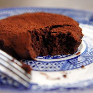 Semi-Sweet Flourless Chocolate Cake