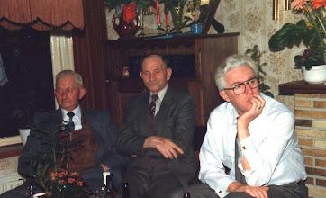 Photo: Henk Maat, Teun Klop en Hans vd Herik