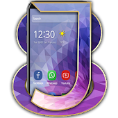 Launcher Theme For J8
