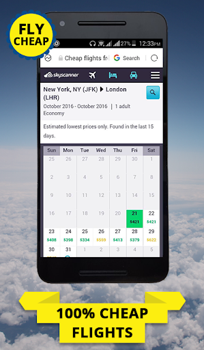 Cheap Flights Calendar 1.1 screenshots 4