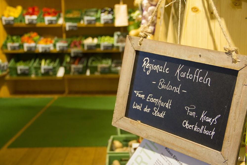 Das Gemüse, das in der Sessler Mühle verkauft wird, kommt aus der Region