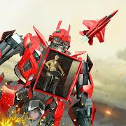 Multi Robot Transform Battle: Air jet robot games