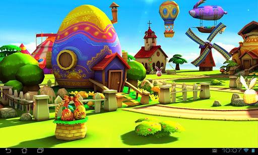 玩免費個人化APP|下載Easter 3D Live Wallpaper app不用錢|硬是要APP