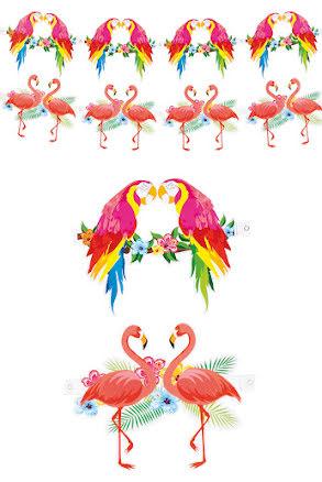 Girlang, tropisk fågel