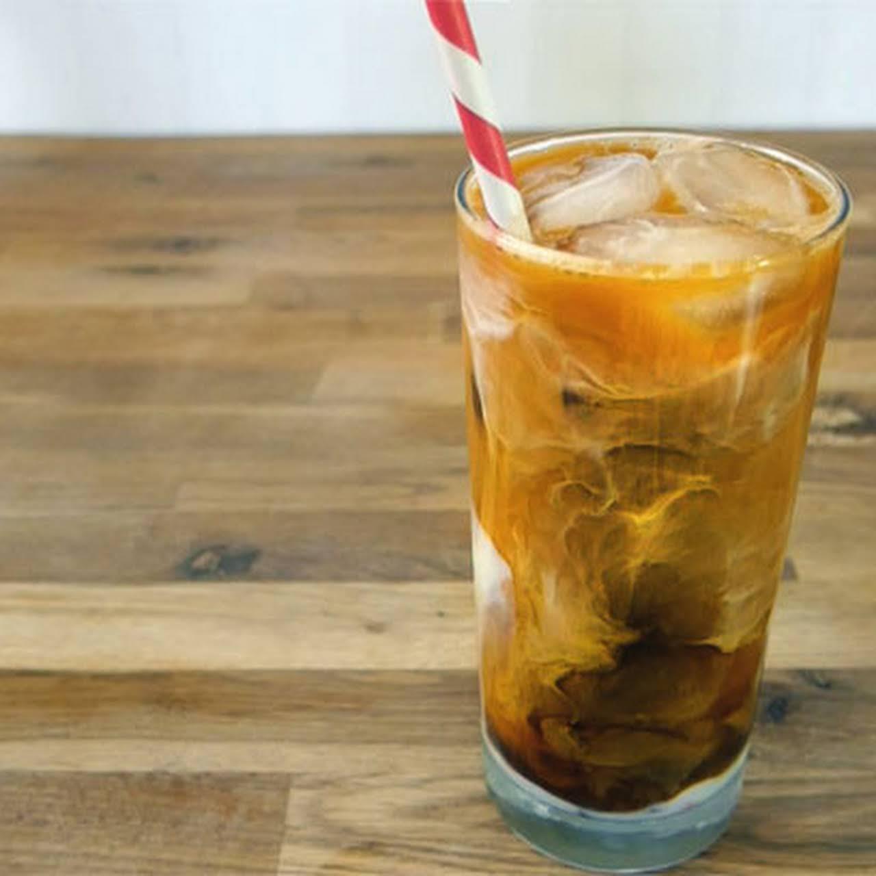 Thai Black Tie - Iced Coffee & Tea