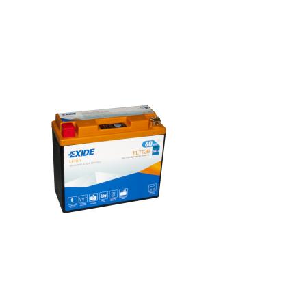 Tudor Exide MC Li-Ion batteri 260CCA ELT12B