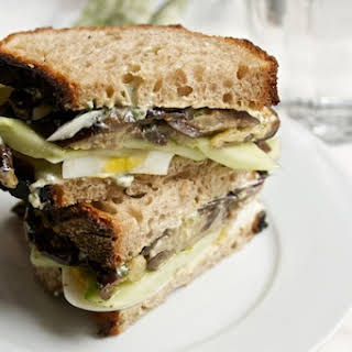 Sabich Sandwich.
