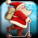 Christmas Santa Rider icon