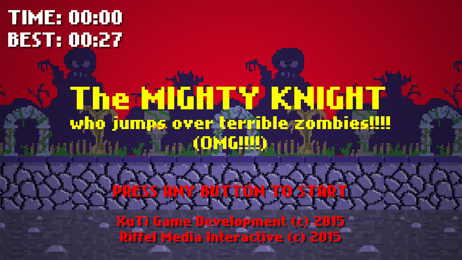 The Mighty Knight who jumps!- screenshot