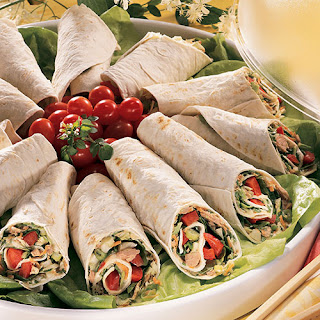 Thai Tuna Wraps.