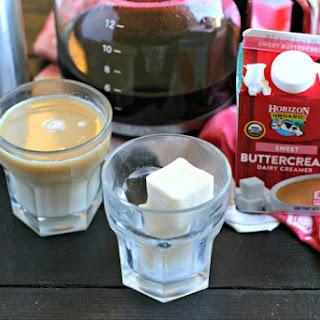 Coffee Creamer Ice Cubes.