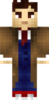 The 10th doctor's (David Tennant) skin