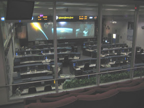 Photo: Space Shuttle MCC from viewing room
