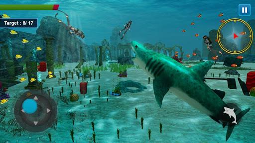Screenshot for Shark Simulator 2019 in United States Play Store
