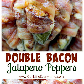 Double Bacon Jalapeno Poppers.