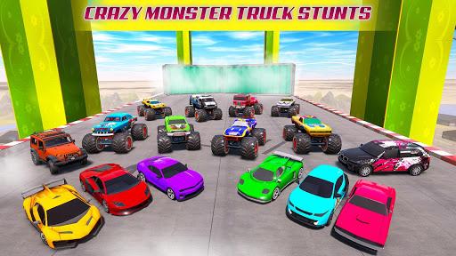 Mega Ramp Car Racing Stunts 3D - Impossible Tracks android2mod screenshots 4