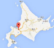 地図:鮨処有馬