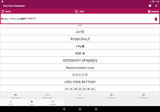 Download Text Font Generator, Encode Messages Apk Latest Version