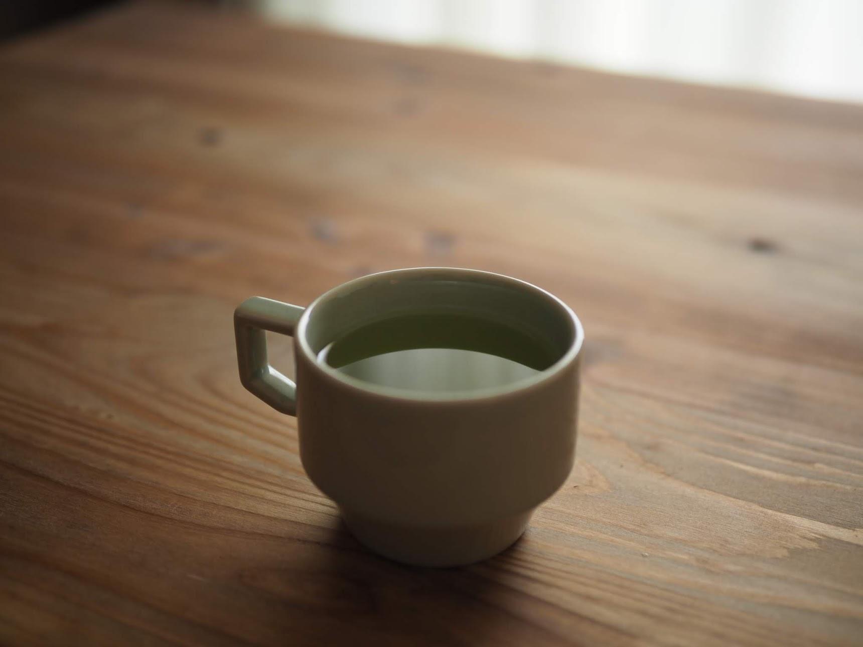 緑茶が完成