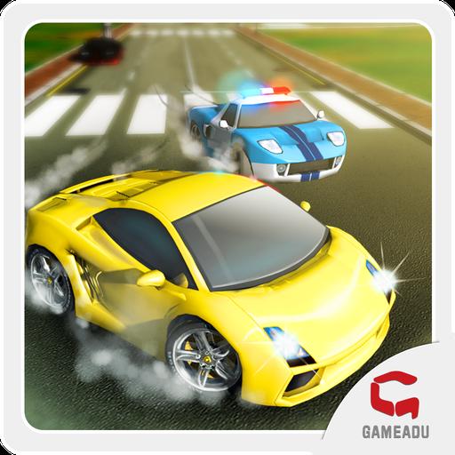 极速飞车: 都市狂飙 賽車遊戲 App LOGO-硬是要APP