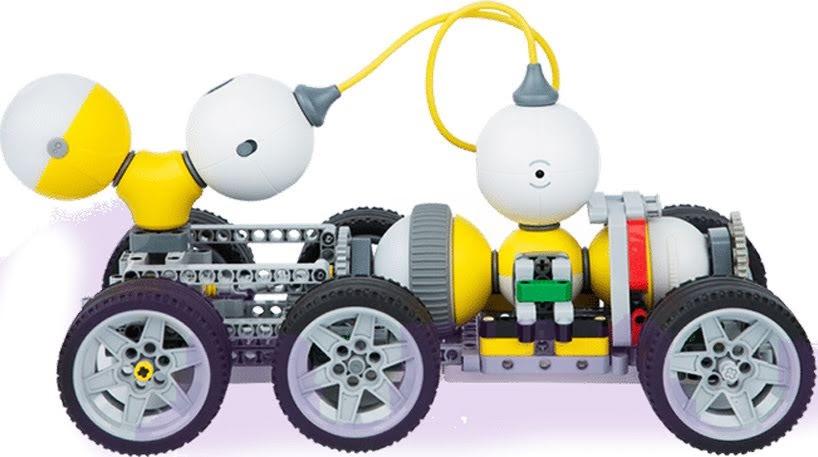 Mabot de Bellrobot es el nuevo kit de construcción de juguetes que es compatible con LEGO