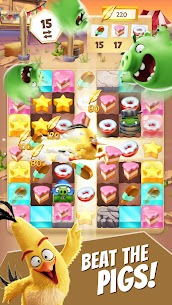 Angry Birds Match MOD (Unlimited Money) 3