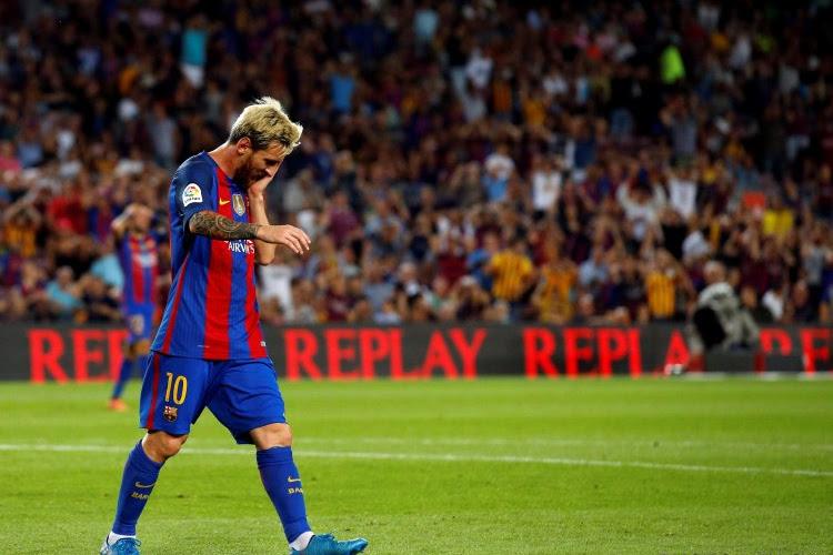 Contraint au partage par l'Atlético, le Barça perd Messi pour 3 semaines