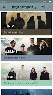 Download Imagine Dragons Lyrics For PC Windows and Mac apk screenshot 2