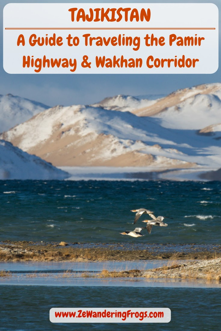 Travel to Tajikistan Pamir Highway and Wakhan Corridor // Karakul Lake