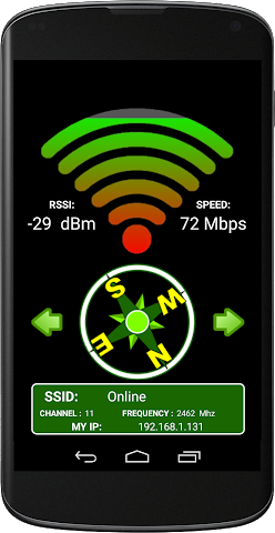 android WIFI SIGNAL QUALITY Screenshot 2