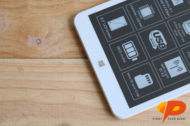 Cherry Mobile MAIA Smart Tab Review - button