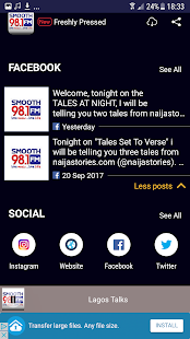 Smooth FM Lagos- screenshot thumbnail