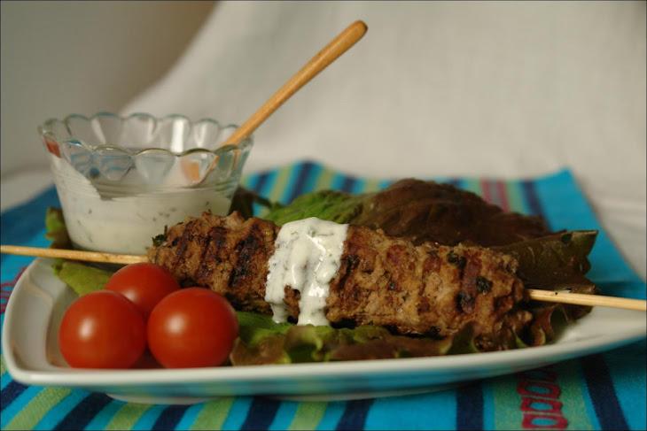 Kebab with Tzatziki Sauce Recipe