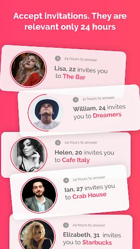Firstep - match, chats, drinks 1.0.5 screenshots 3