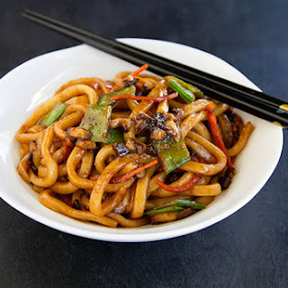Vegetable Yaki Udon.