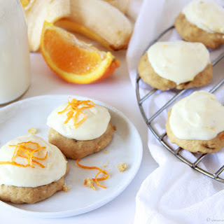 Banana Orange Drop Cookies