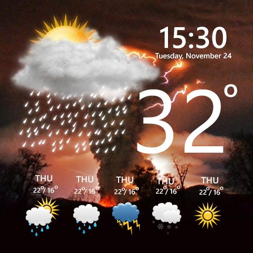 Weather Forecast Temperature Live 2.0 screenshots 1